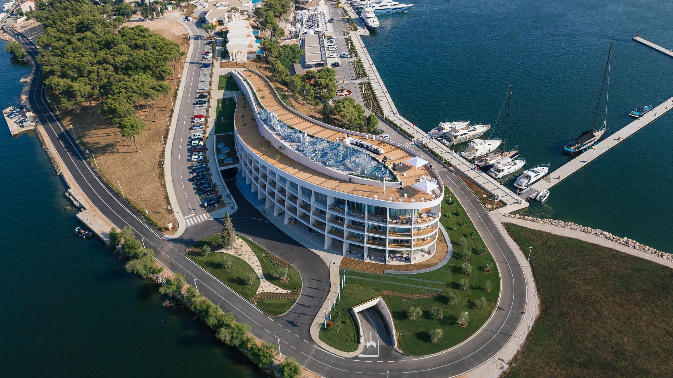Vile D Resort Ibenik Hrva Ka Andivi