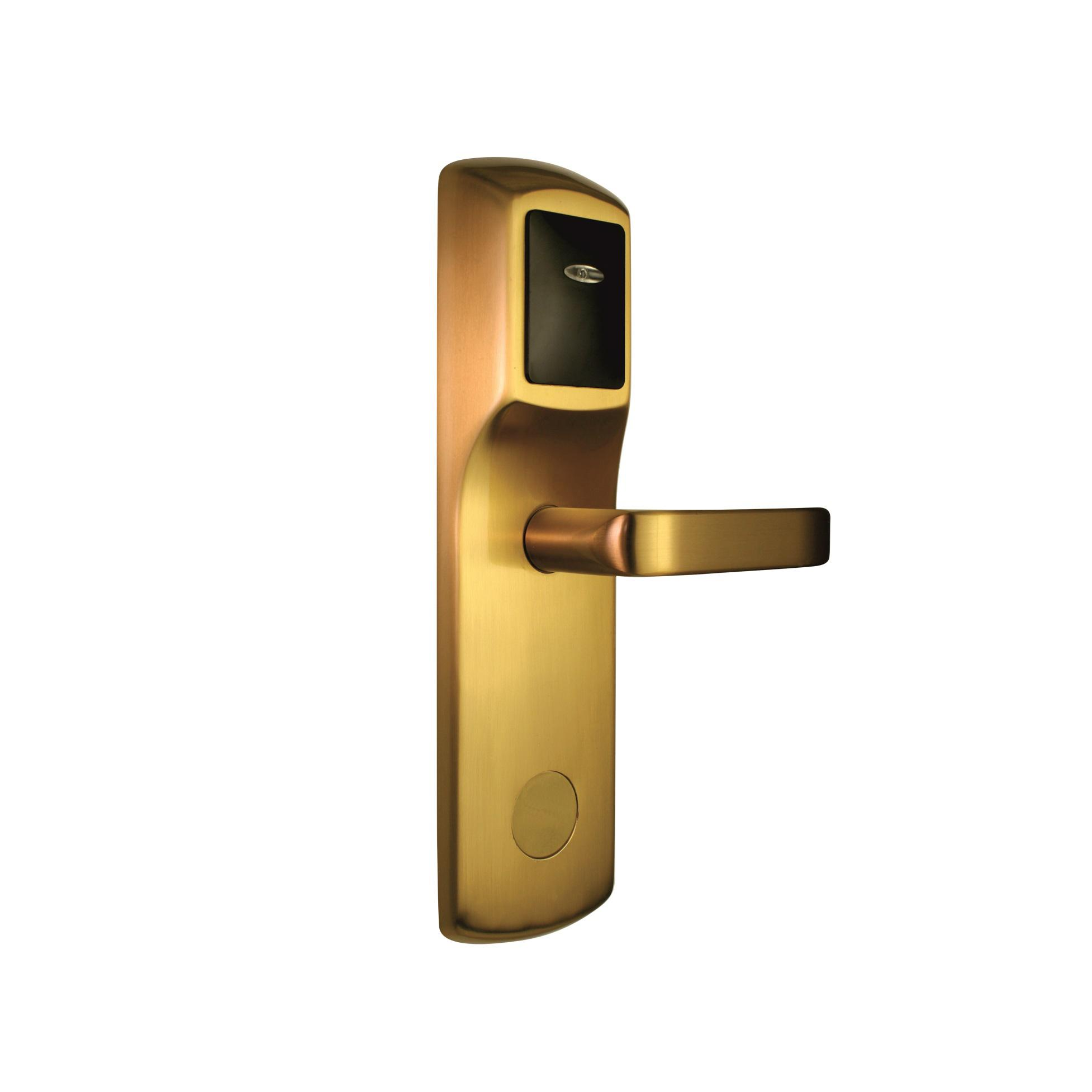 how to open electronic door lock