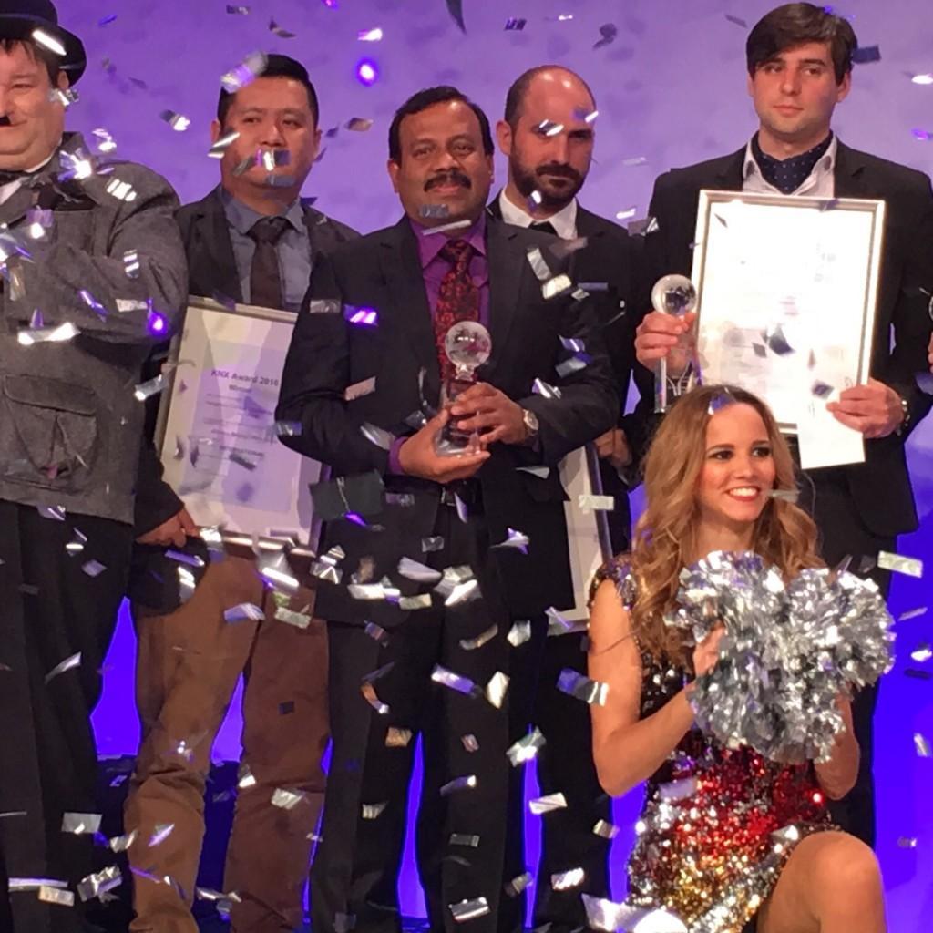 KNX TOP Event 2016 Taj Kollara TAC Dubai Winner Energy Efficiency