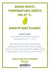 Hotel-Termostat-naljepnica-ušteda-energije