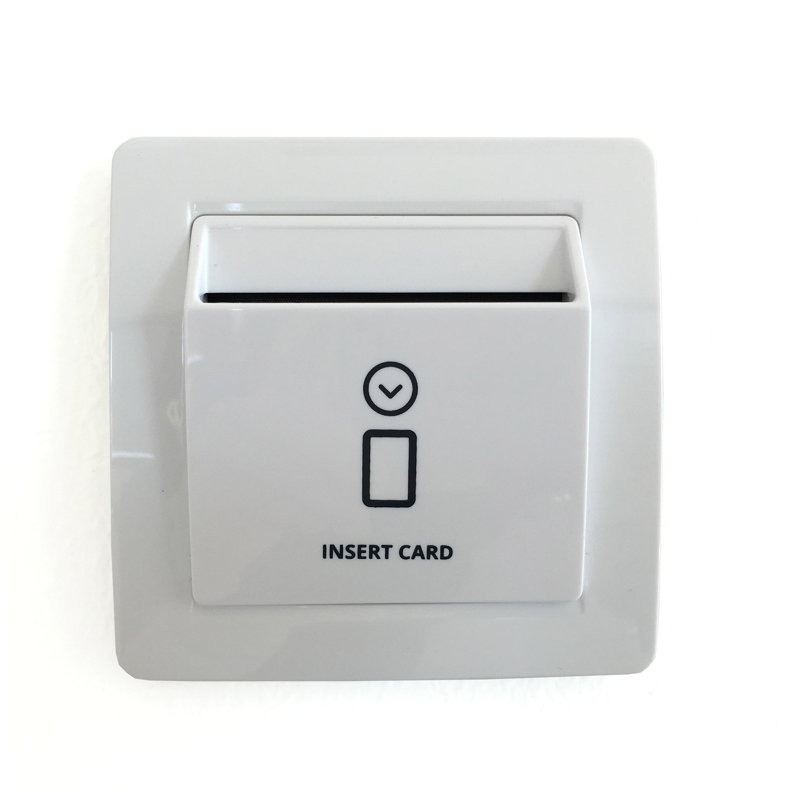 Energy Saving Switch Card Holder For Hotels Company