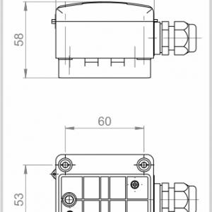 CONTACT TEMPERATURE SENSOR -ANDANTF1-2