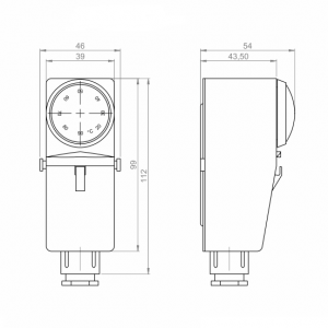 Contact safety temperature thermostat with ext controls_ANDANTH3