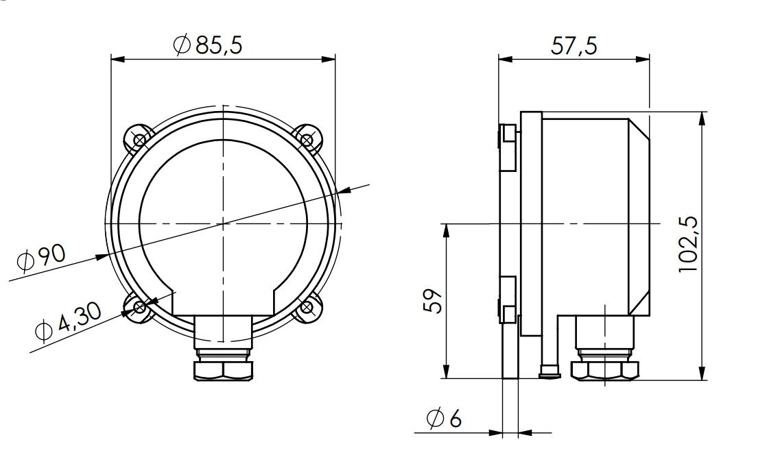 Differential Pressure Controller ANDDDW - 2