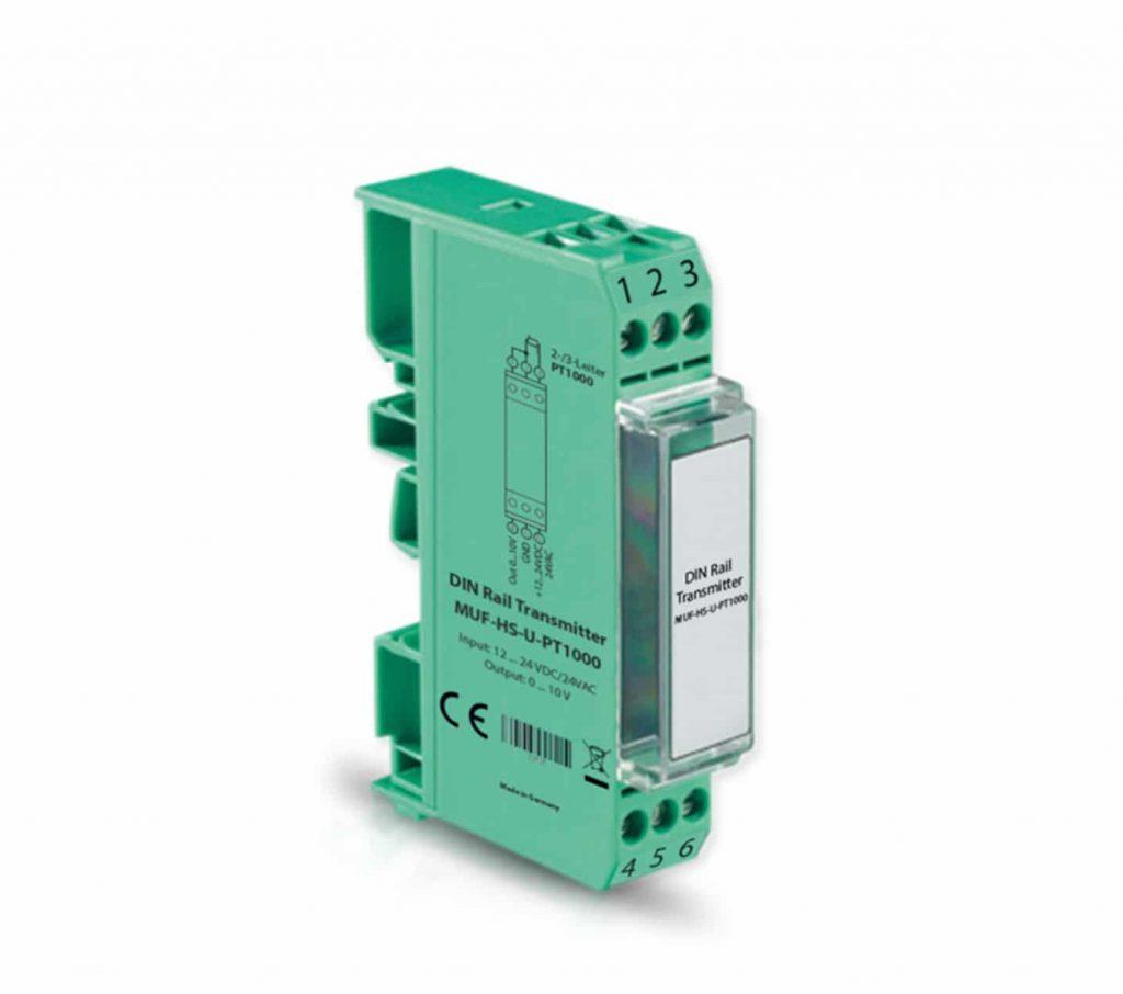 DIN-Rail Measuring Transducer for PT1000-ANDMUF-HS-1