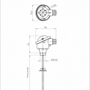 High Temperature Sensor-ANDHTFB1-4