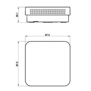 Indoor Air Quality Sensor with LED Display- ANDRALQA-U_ANDRALQA-I-2