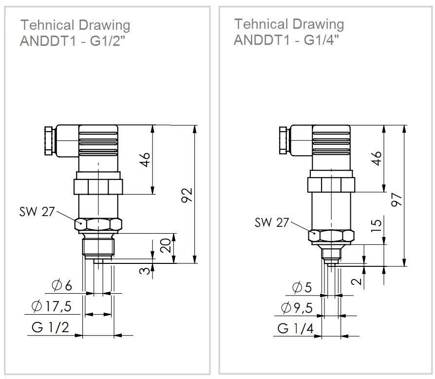 Pressure Transmitter ANDDT1 - 2