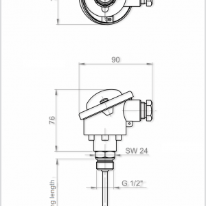 Screw-In Sensor-ANDHTFB2-4