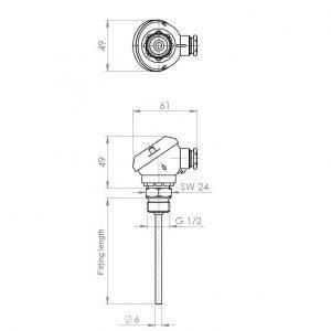 Screw-In Senzor-ANDHTFJ2-4