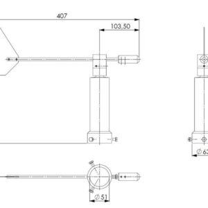 Wind Direction Sensor ANDWM2 - 2