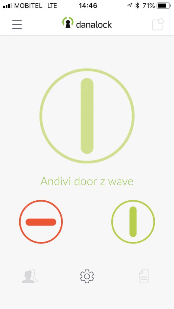 Danalock V3-Smart lock App-1