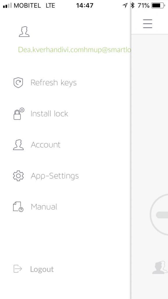 Danalock V3-Smart lock App-3