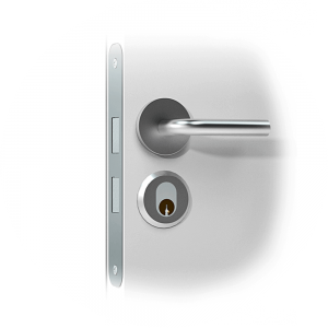 Mortise_cylinder_smart lock door handle-Scandi-2