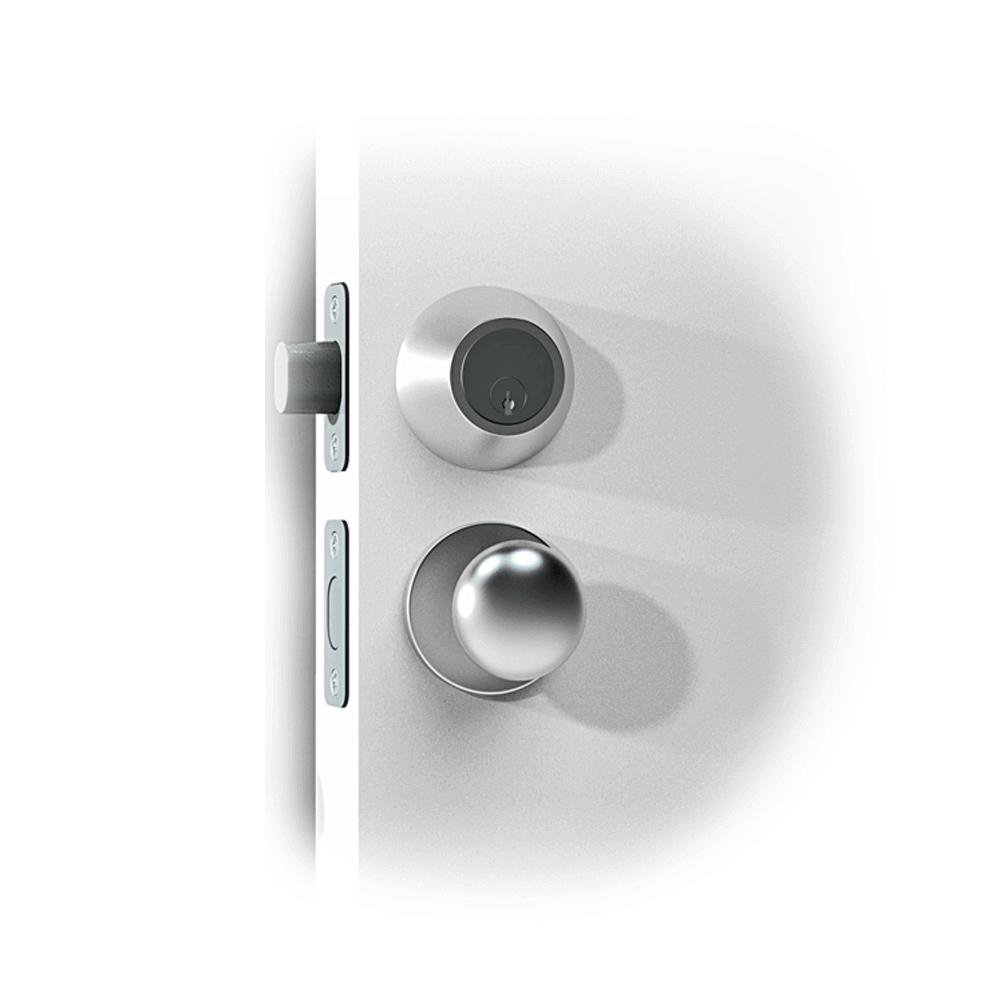 Mortise_smart lock door handle_US-2