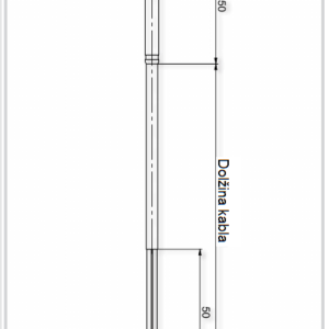 Modbus Contact Temperature Sensor Brass ANDANTF3MS-MD 2