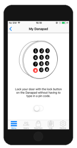 Danapad Smart Keypad Access App 5