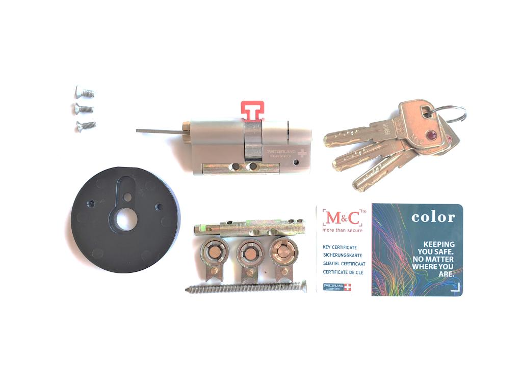 M&C Adjustable Cylinder for Danalock V3 Smart Lock - 3