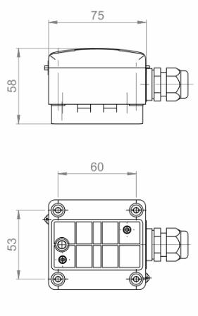 Modbus Contact Temperature Sensor ANDANTF1MD technical