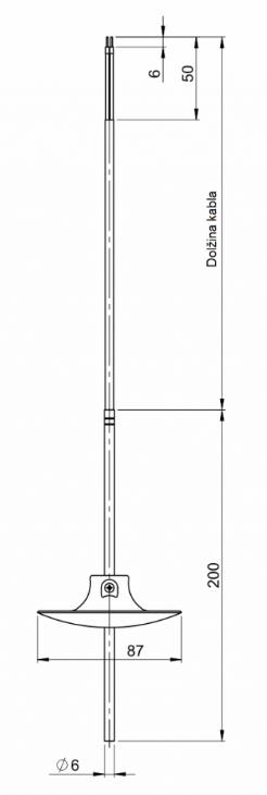 Modbus Immersion Temperature Sensor ANDKBTFLMD technical