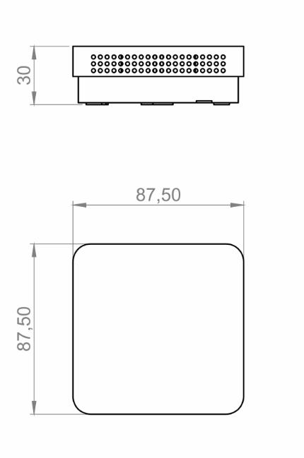 Modbus Indoor CO2 Sensor ANDRACO2-MD technical