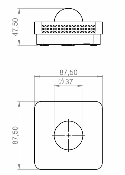 Modbus Indoor Radiation Sensor ANDRSTFMD technical