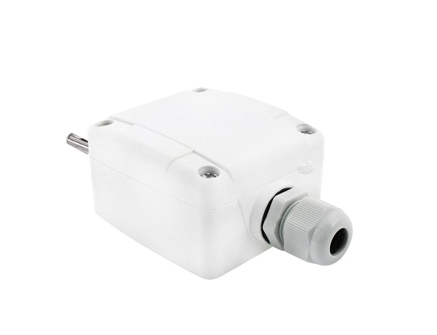 Modbus Outdoor Temperature Sensor with Sun Protection ANDAUTFEXT2MD back