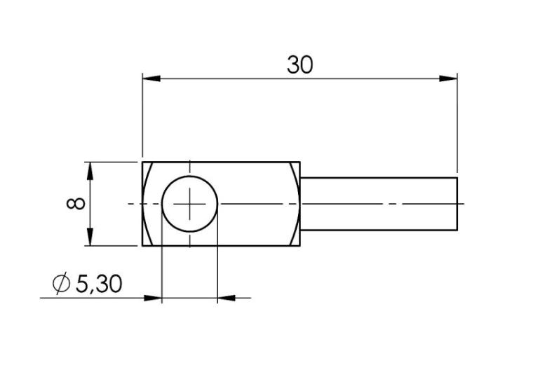 Modbus Surface Temperature Sensor ANDOBTFMD technical sensor